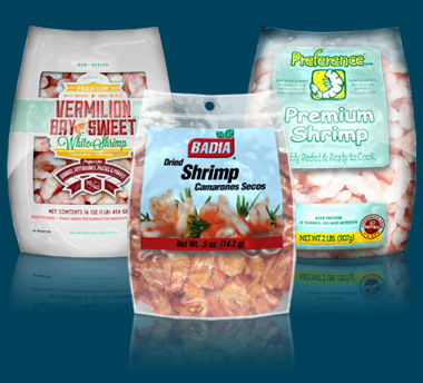 seafood packaging samples